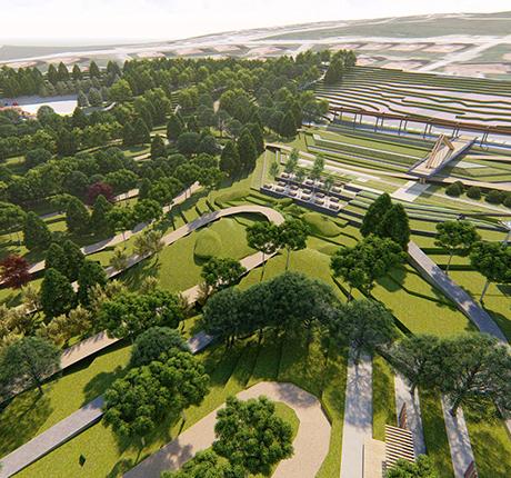 Sakarya Büyükşehir Belediyesi Ayçiçeği Vadisi ve Bisiklet Adası Dedehan Yapı